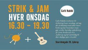 Strik + Jam på Café Habibi hver onsdag