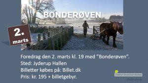 """Foredrag med """"Bonderøven"""" - Frank Erichsen"""