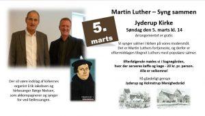 Martin Luther – Syng sammen i Jyderup Kirke