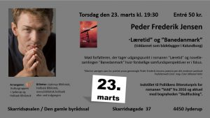"""Foredrag med Peder Frederik Jensen""""Læretid"""" og """"Banedanmark"""""""