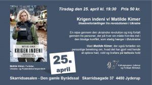 Krigen indeni foredrag med Matilde Kimer