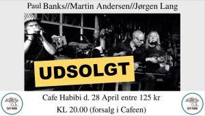 UDSOLGT - Paul Banks spiller koncert på Café Habibi d. 28/4-2017, kl. 20