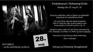 Forårskoncert i Holmstrup Kirke