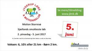 Motion Skarresø - Sjællands smukkeste løb - 6, 10½ eller 21 km/børn 2 km
