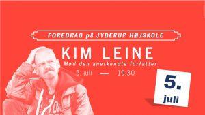 Foredrag med den anerkendte forfatter: Kim Leine