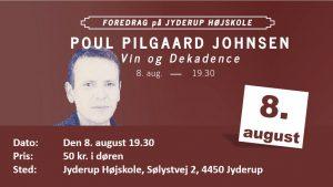 Vin og dekadence - FOREDRAG: Poul Pilgaard Johnsen