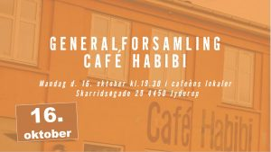 Generalforsamling på Café Habibi