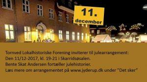 Tornved Lokalhistoriske Forening inviterer til julearrangement