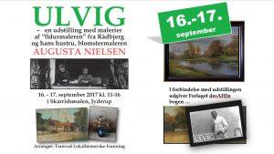 Udstilling af Kristian Nielsen Ulvigs malerier i Skarridsøsalen