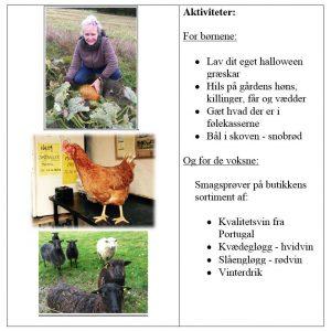 Halloween på Adamsgården