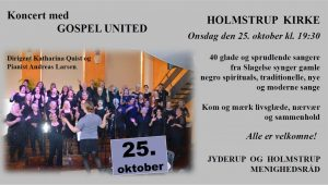 Koncert med GOSPEL UNITED