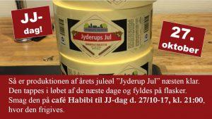 Årets juleøl frigives: Jyderups Jul