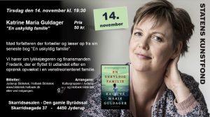 Mød forfatteren Katrine Maria Guldager