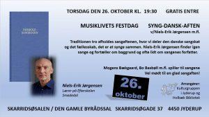 MUSIKLIVETS FESTDAG - SYNG-DANSK-AFTEN