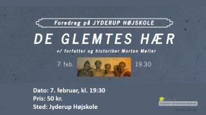 De Glemtes Hær - Foredrag v. historiker og forfatter Morten Møller