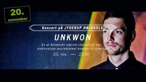 UNKWON kommer til Jyderup og spiller koncert!