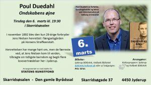 Forfatter Poul Duedahl - Ondskabens øjne