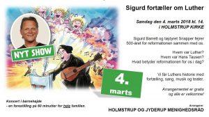 Sigurd fortæller om Luther - koncert i børnehøjde