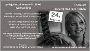 EneRum - Koncert med Sara Grabow