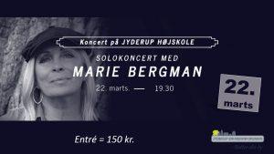 Solokoncert med Marie Bergman