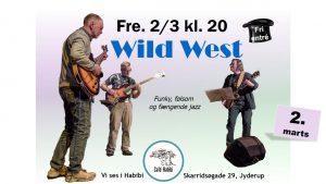 Koncert med Wild West på Café Habibi