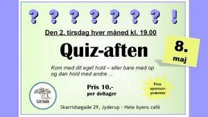 Quiz-aften på Cafe Habibi - den 2. tirsdag i hver måned
