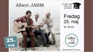 Koncert med Albert JAHM