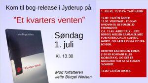 "Bog-release ""Et kvarters venten"" i Café Habibi"