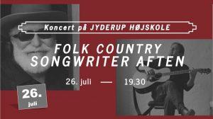 Folk Country Songwriter Aften på Jyderup Højskole