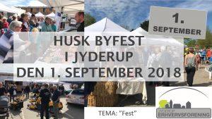 HUSK Jyderups BYFEST d. 1. september