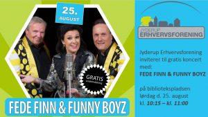 Gratis koncert med Fede Finn & Funny Boyz