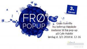 Grøn Guerilla fra Jyderup Højskole inviterer til frø pop-up på Cafe Habibi
