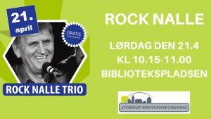 Gang i Jyderup - gratis koncert med ROCK NALLE