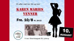 "Koncert med ""Karen Maries Venner"""