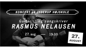 Koncert med Rasmus Nelausen