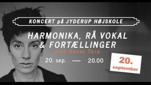 Harmonika, rå vokal og fortællinger med Gunni Torp