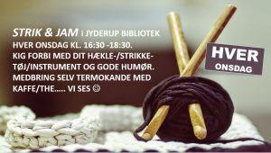 STRIK & JAM i Jyderup Bibliotek