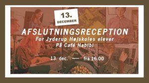 Afslutningsreception for Jyderup Højskoles elever på Café Habibi