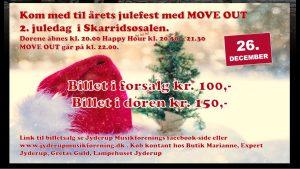 Kom med til årets julefest 2. juledag i Skarridsøsalen