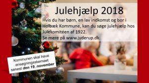 Julehjælp 2018 - søg nu! og frem til den 19. november 2018