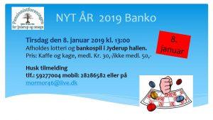 Pensionistforeningen inviterer til BANKO