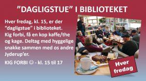 """DAGLIGSTUE"" I BIBLIOTEKET - KIG FORBI"