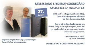 FÆLLESSANG I JYDERUP SOGNEGÅRD