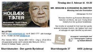 """Monolog med stor livsvisdom: """"Mr. Ibrahim & Koranens Blomster"""""""