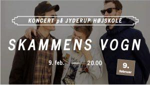 Koncert på Jyderup Højskole med SKAMMENS VOGN