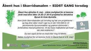 SIDSTE CHANCE - Åbent hus om Attraktive Byrum og Grøn Bymidte @ Skarridsøsalen | Jyderup | Danmark