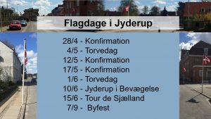 Hvorfor flages der i Jyderup?