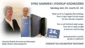 SYNG SAMMEN I JYDERUP SOGNEGÅRD