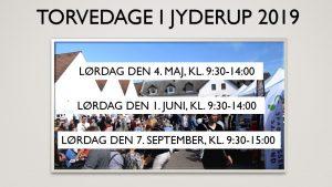 Torvedag/byfest/Lystændingsfest i Jyderup 2019