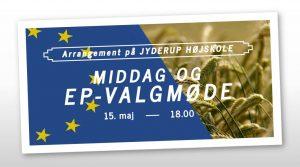 Kom og diskuter EU's landbrugspolitik med Europaparlamentets kandidater